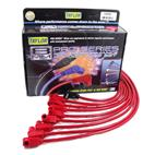 Taylor-74226-8mm Spiro Pro; Ignition Wire Set; Custom Fit; Red;